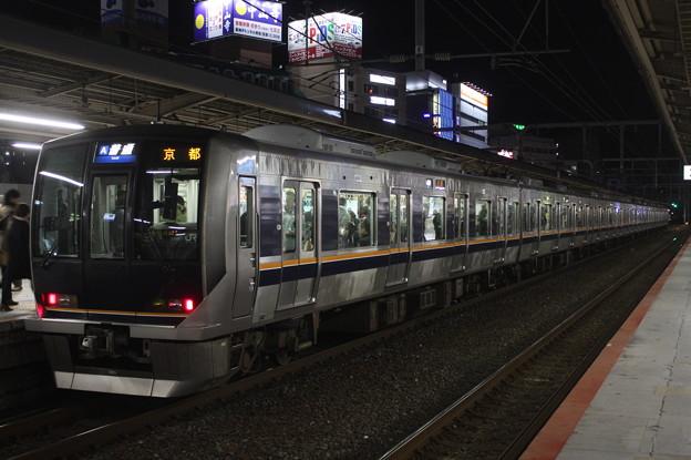 JR神戸線 321系D35編成 普通 京都 行