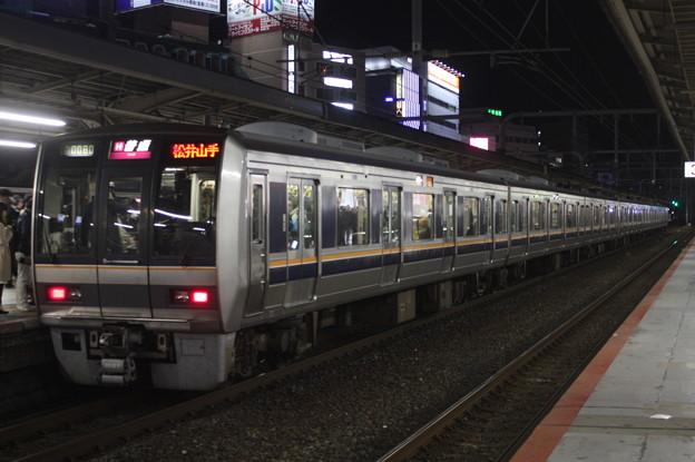 JR神戸線 207系2000番台S59編成 普通 松井山手 行