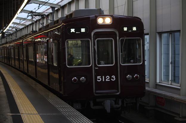 阪急宝塚線 5100系5123F 普通 箕面 行