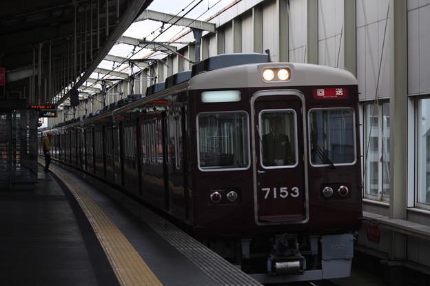 阪急宝塚線 7000系7033F 回送