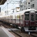 阪急神戸線 9000系9006F 普通 阪急神戸三宮 行