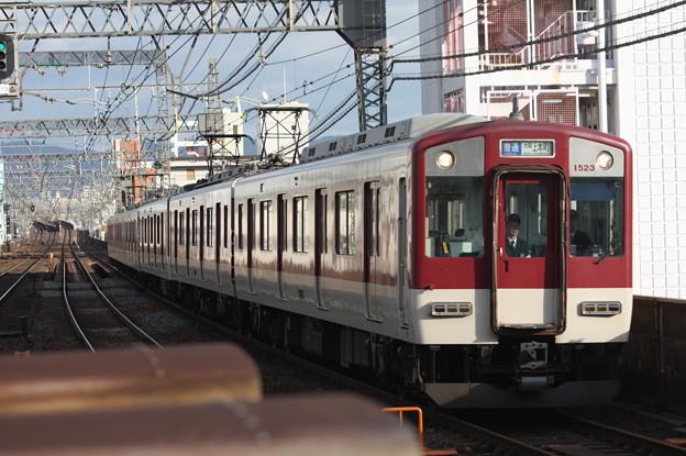 近鉄大阪線 1620系1523F 普通 大阪上本町 行
