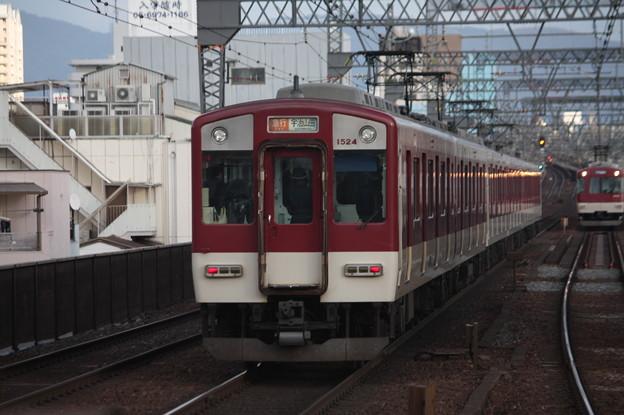 近鉄大阪線 1620系1524F 急行 宇治山田 行