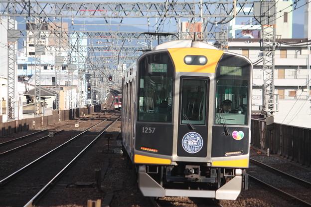阪神1000系1257F 区間準急 尼崎 行