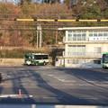 神戸市営バス 須磨一ノ谷プラザバス回転場