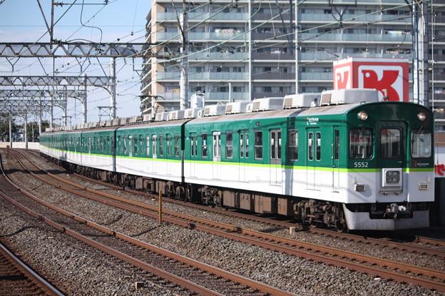 京阪本線 5000系5552F 普通 三条 行 (1)