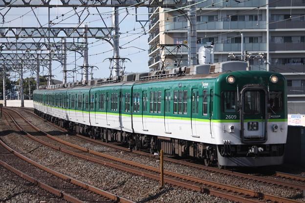 京阪本線 2600系2609F 普通 三条 行