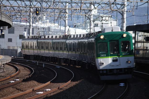 京阪本線 2600系2833F 回送