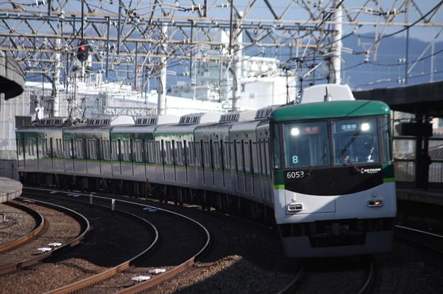 京阪本線 6000系6053F 急行 淀屋橋 行