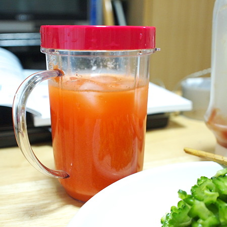 ニンジンリンゴジュース
