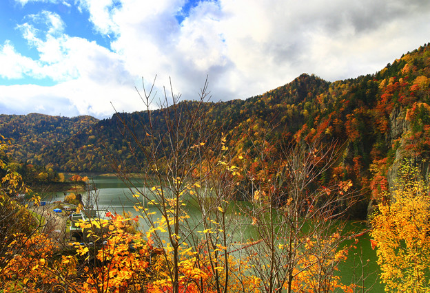 豐平峽秋色