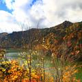 写真: 豐平峽秋色