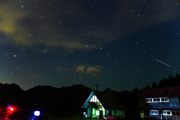 天の川撮影会 少し北西よりの北斗七星