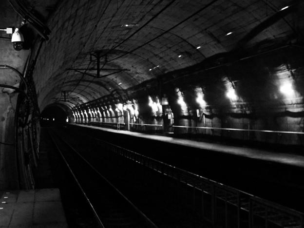 大正元年からある地下駅