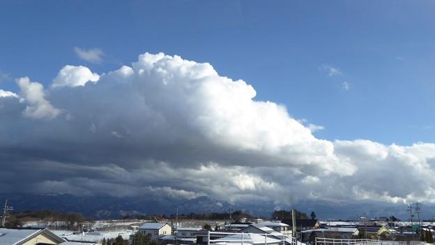 小春日和の雲