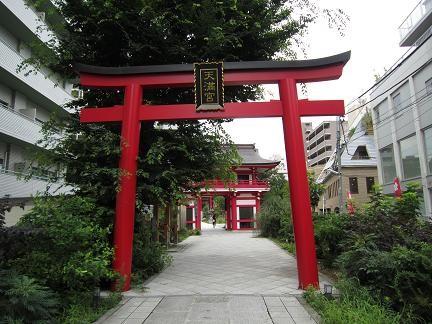 成子神社の鳥居