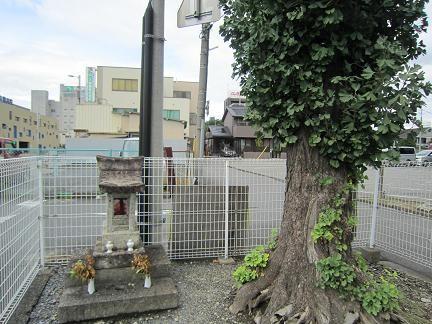 松ヶ峰門跡地
