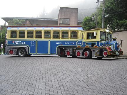 つるつる温泉のバス