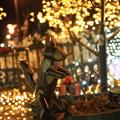 Photos: 軽井沢駅前の灯り