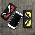 Photos: Fendi ブランド iphone8 ケース フェンディ スムース iphoneX カバー モンスター 夜光効果 個性 アイフォン7 三色 薄い
