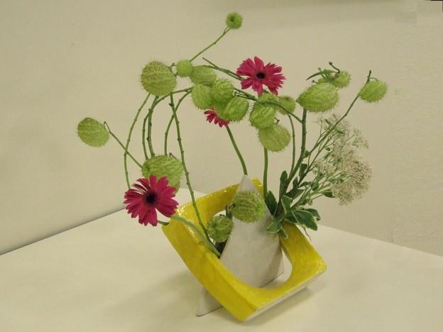 花器を組み合わせる-別方向から