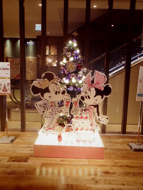 渋谷マークシティミッキーミニー