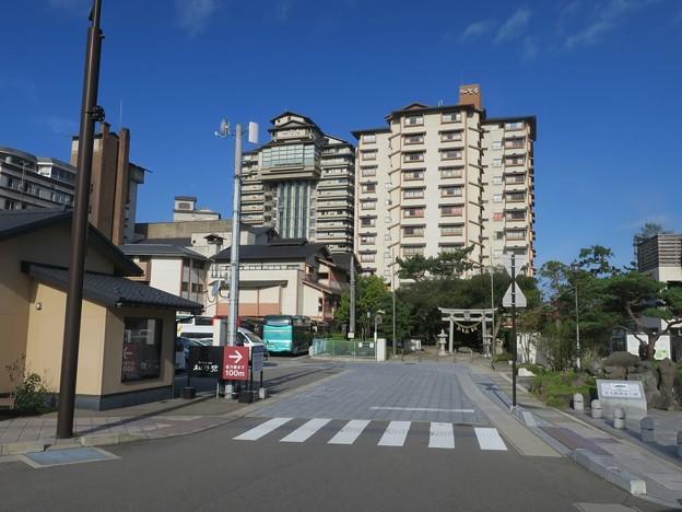 和倉温泉街