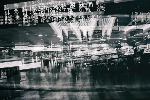 写真: 第120回モノコン 駅の光