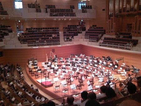 東京交響楽団第54回新潟定期セッティング