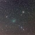 写真: C/2017 O1 ASAS-SN彗星とNGC1579 20171001未明