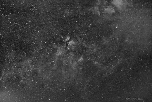 写真: IC1318付近Halfa