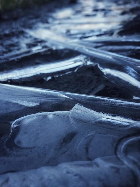 写真: 氷