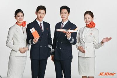 チェジュ航空イメージモデル、いよいよ「東方神起」完全体=韓国
