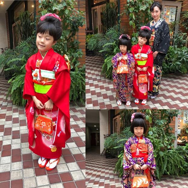 Photos: 七五三の着付け+髪セット