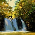 写真: 三筋の滝