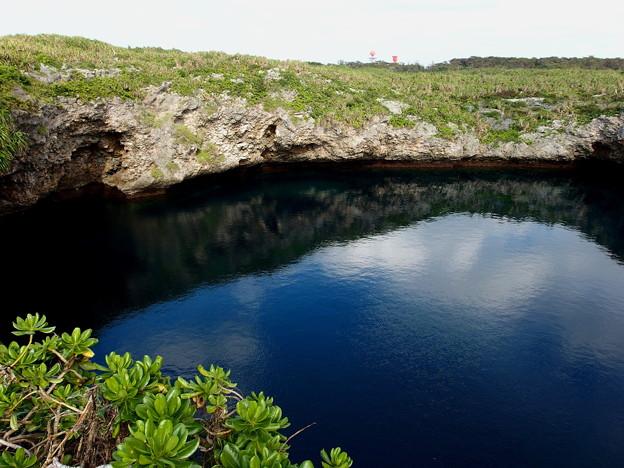 海水と淡水の境界が見えるの^^