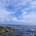 写真: マイヨールが愛した海