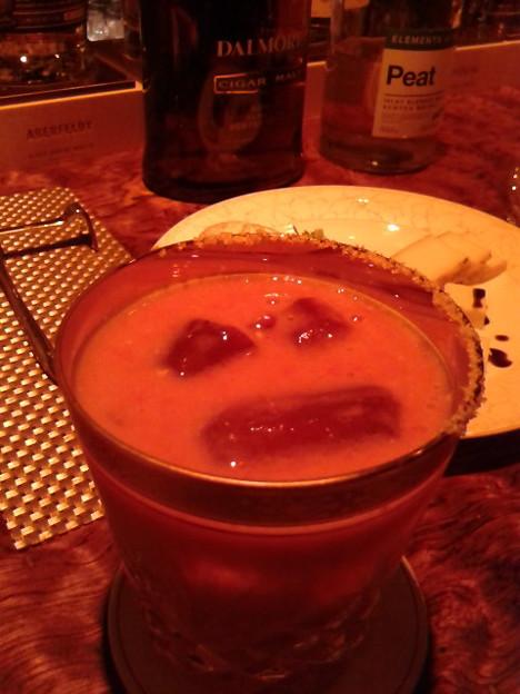 トマト。に、なに入れたかは知らん(笑)、いい塩梅。