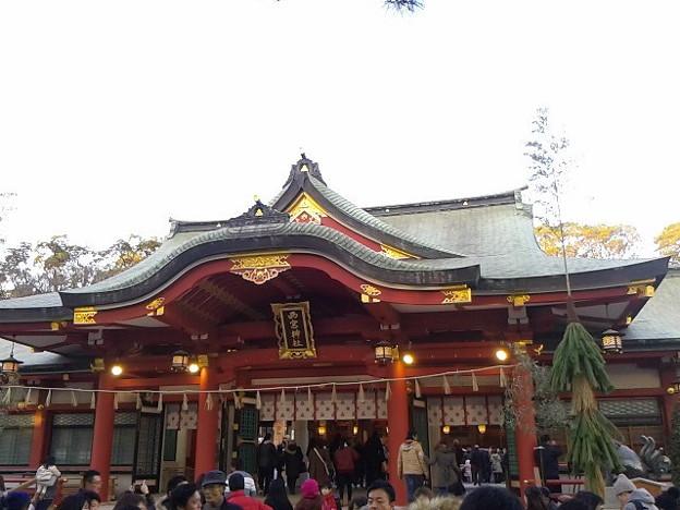 初、西宮神社。ここは10日が本番やね。