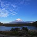 写真: 精進湖にて1