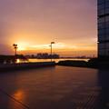 落日の海/ポートタワー