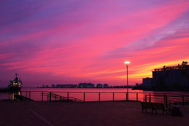 写真: 秋暮18:05