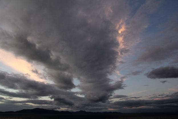 台風一過の空模様