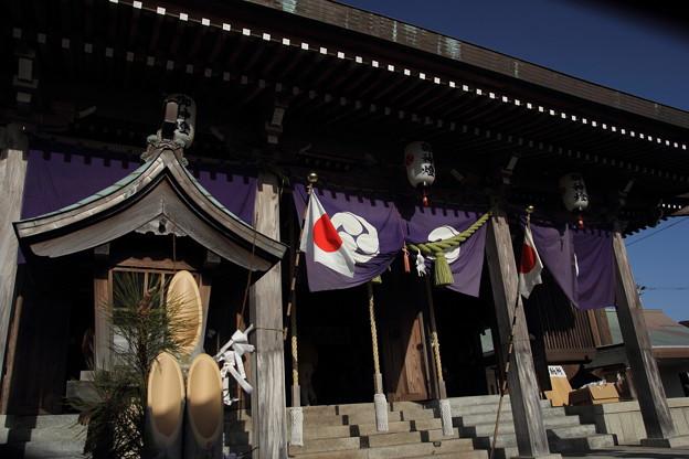 八幡神社正月