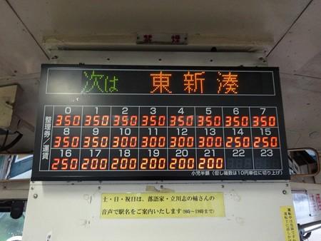 MLRV7070C-運賃表