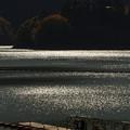 写真: 湖面模様
