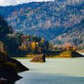 写真: 色彩の豊平峡