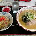 Photos: 味王 味噌ラーメン+チャーハンセット