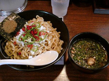 麺や虎鉄 つけ麺(400g) ネギ・油増し