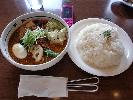 南家本店 豆腐とひき肉+特盛りライス
